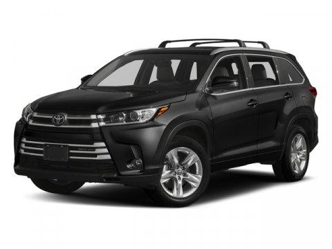 New 2018 Toyota Highlander Limited Platinum V6 AWD