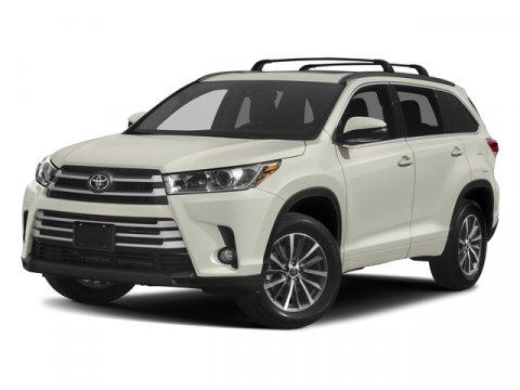 New 2018 Toyota Highlander XLE V6 AWD