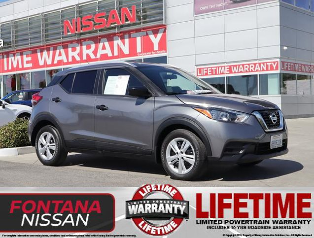 2019 Nissan Kicks S S FWD Regular Unleaded I-4 1.6 L/98 [1]