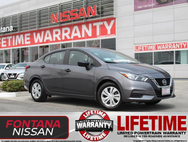 2020 Nissan Versa S S Manual Regular Unleaded I-4 1.6 L/98 [0]