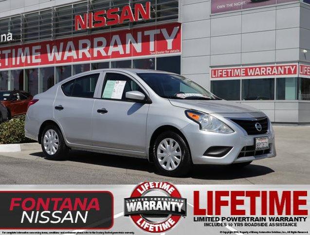 2018 Nissan Versa Sedan S S Manual Regular Unleaded I-4 1.6 L/98 [8]