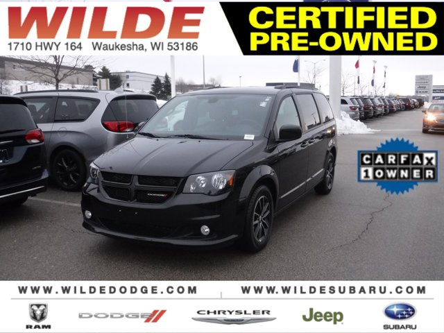 2018 Dodge Grand Caravan GT Black Onyx Crystal PearlcoatBlack V6 36 L Automatic 31246 miles Ba