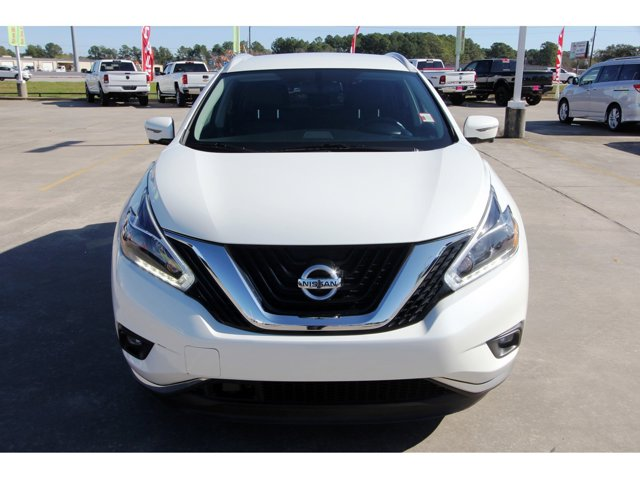 2018 Nissan Murano SL Pearl WhiteGraphite V6 35 L Variable 40402 miles Trustworthy and worry-f