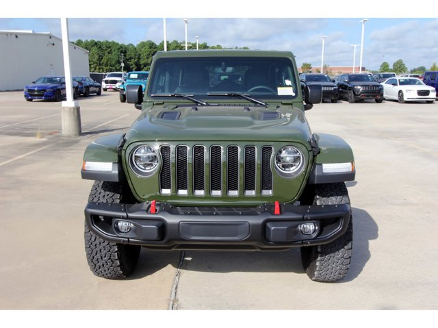 2020 Jeep Wrangler Unlimited Rubicon Sarge Green ClearcoatBlack V6 36 L Automatic 12 miles Dea