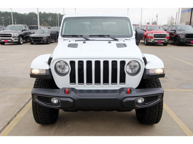 2020 Jeep Gladiator Rubicon Bright White ClearcoatBlack V6 36 L Automatic 10 miles Dealer Disc