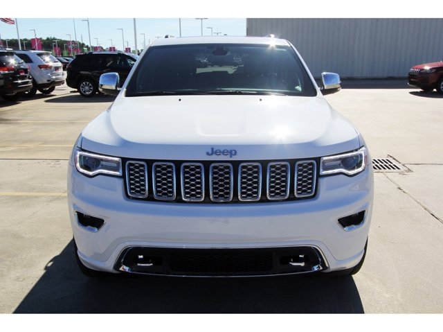 2020 Jeep Grand Cherokee Overland Bright White ClearcoatBlack V6 36 L Automa