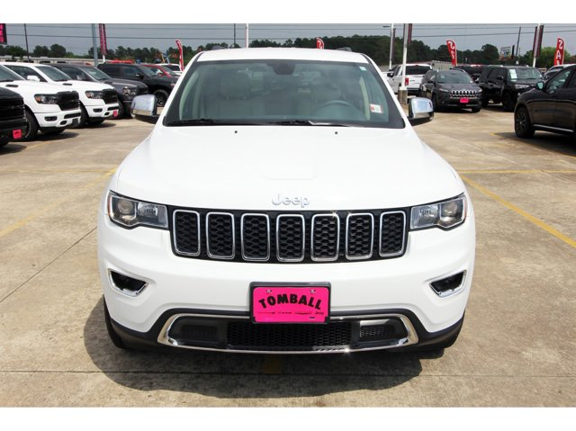2018 Jeep Grand Cherokee Limited Bright White ClearcoatLt Frost BeigeBlack V6 36 L Automatic 2