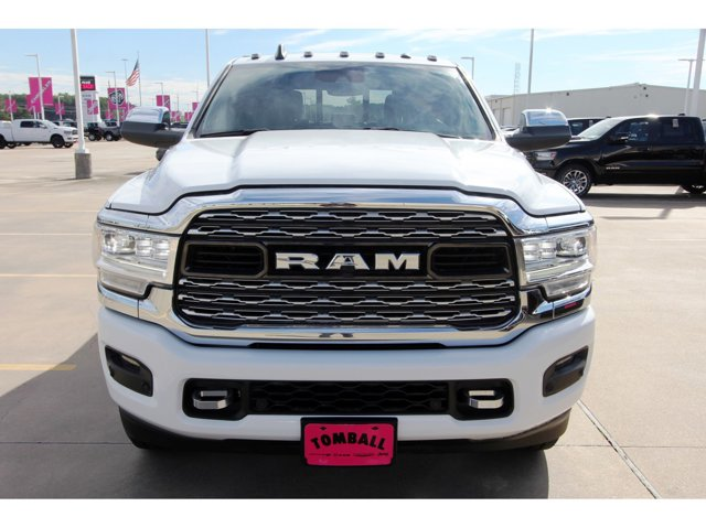 2019 Ram 2500 Limited Bright White ClearcoatBlack V6 67 L Automatic 181 mil