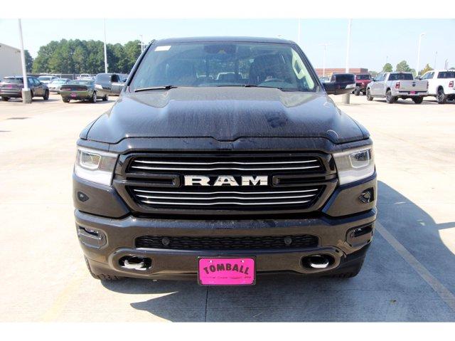 2021 Ram 1500 Laramie Diamond Black Crystal PearlcoatBlack V8 57 L Automatic