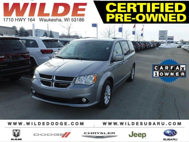 2019 Dodge Grand Caravan SXT Billet ClearcoatBlackLight Graystone V6 36 L Automatic 17329 mile