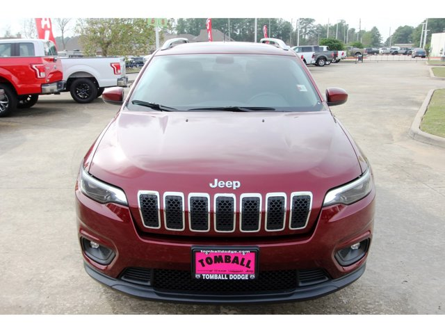2019 Jeep Cherokee Latitude Velvet Red PearlcoatBlack V4 24 L Automatic 22938 miles Tried-and-