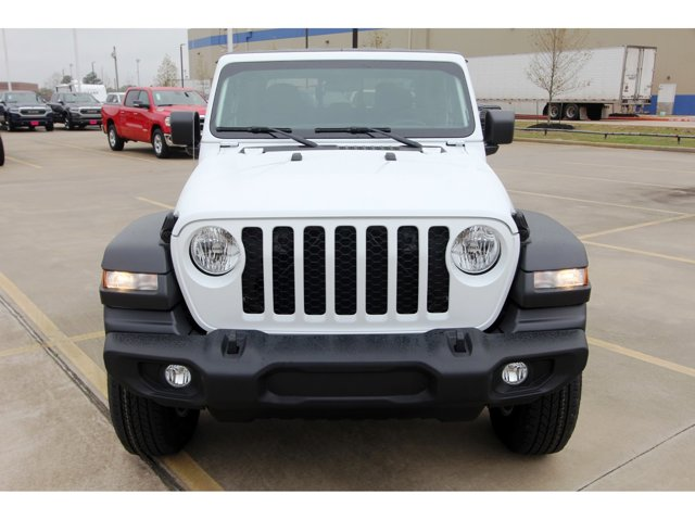 2020 Jeep Gladiator Sport S Bright White ClearcoatBlack V6 36 L Automatic 11 miles Dealer Disc
