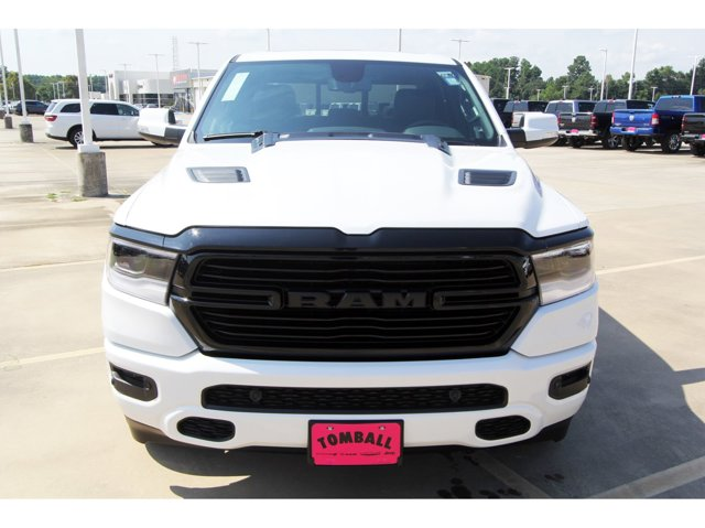 2020 Ram 1500 Laramie Ivory White Tri-Coat PearlcoatBlack V8 57 L Automatic 11 miles Dealer Di