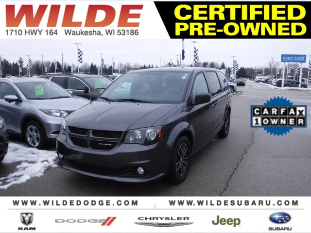 2018 Dodge Grand Caravan GT Granite PearlcoatBlack V6 36 L Automatic 43419 miles Backed by a r