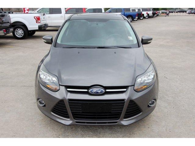 2013 Ford Focus Titanium Sterling Gray MetallicCharcoal Black V4 20L Automatic 45999 miles C