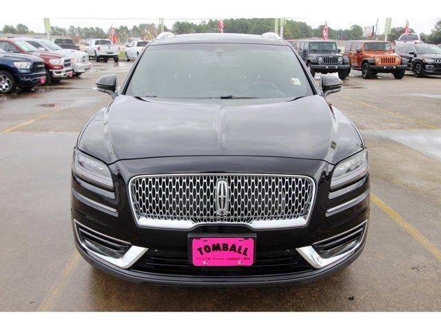 2019 Lincoln Nautilus Reserve Infinite Black MetallicEbony V4 20 L Automatic 15473 miles Trust