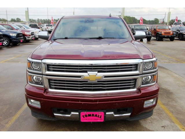 2014 Chevrolet Silverado 1500 High Country Deep Ruby MetallicSaddle V8 53L Automatic 112042 mil
