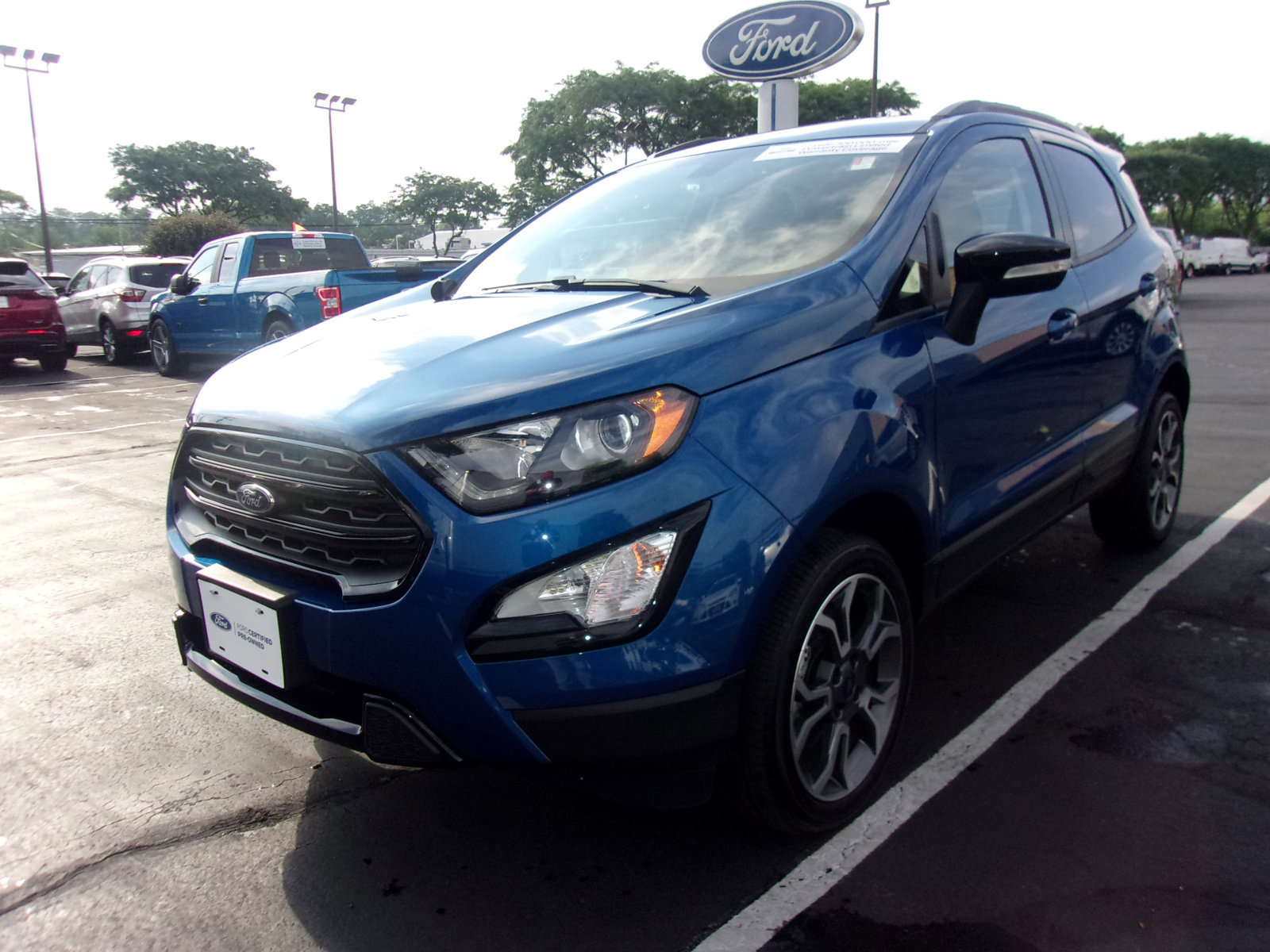 2019 Ford EcoSport SES AWD