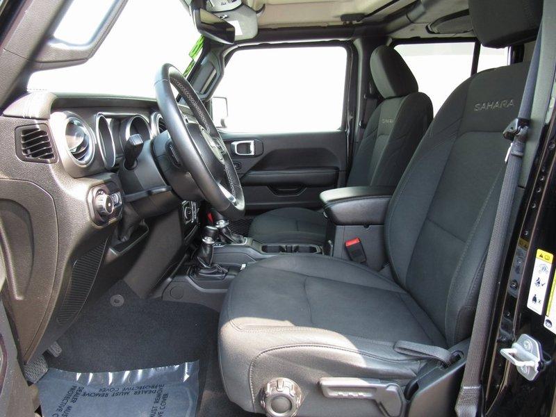 2018 Jeep Wrangler Sahara 4D Sport Utility