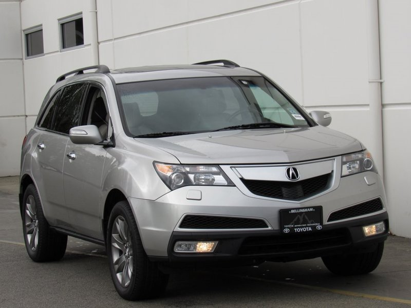 2010 Acura MDX Advance-Entertainment Pkg 4D Sport Utility