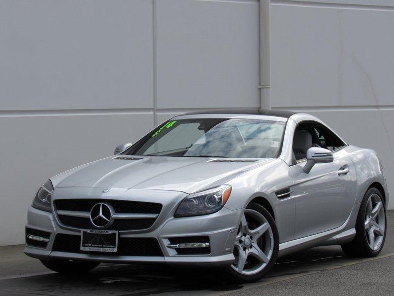 2014 Mercedes-Benz SLK SLK 350 2D Convertible