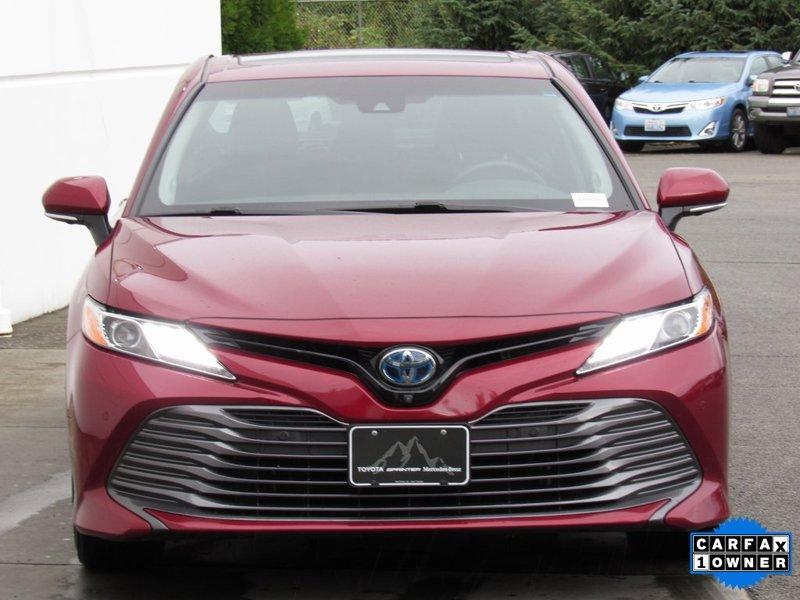 2018 Toyota Camry XLE 4D Sedan