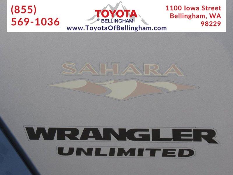 2014 Jeep Wrangler Sahara 4D Sport Utility