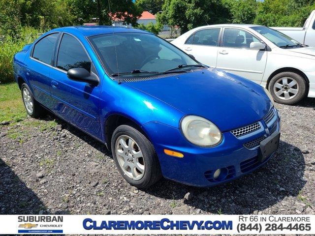 2005 Dodge Neon 4dr Sdn SXT BLUE Emergency Trunk Release