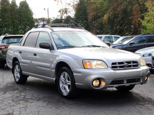2004 Subaru Baja 4dr Sport Auto SILVER CD Player Bucket Seats