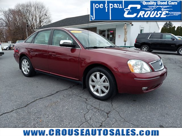2007 Ford Five Hundred 4dr Sdn Limited AWD MERLOT METALLIC