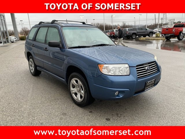2007 Subaru Forester AWD 4dr H4 AT X NEWPORT BLUE PEARL
