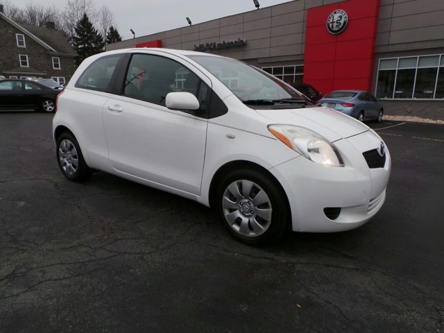 2007 Toyota Yaris 3dr HB Auto WHITE Intermittent Wipers