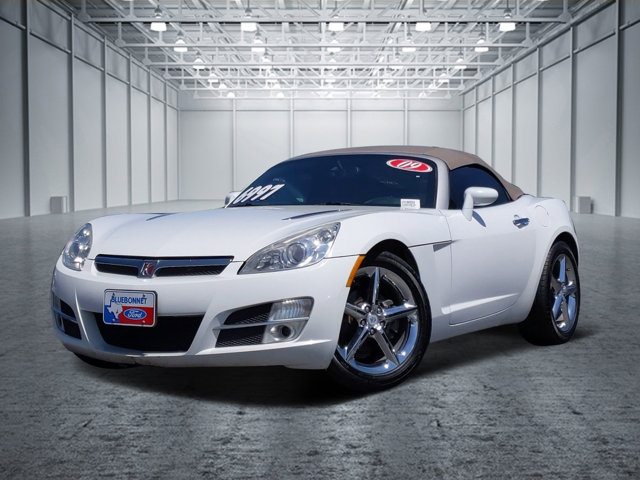 2009 Saturn Sky 2dr Conv POLAR WHITE CD Player Bucket Seats