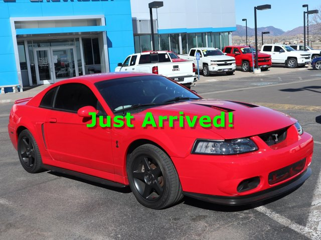 2004 Ford Mustang 2dr Cpe SVT Cobra RED Cruise Control
