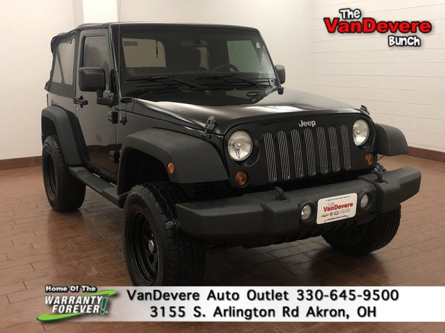 2011 Jeep Wrangler 4WD 2dr Sport BLACK CLEAR COAT