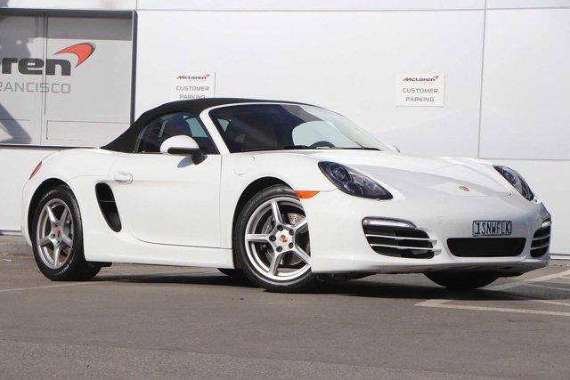 2014 Porsche Boxster 2dr Roadster WHITE Bucket Seats
