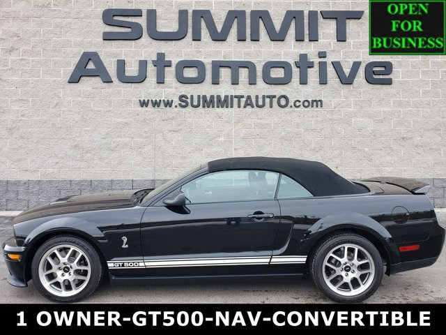 2008 Ford Mustang 2dr Conv Shelby GT500 BLACK