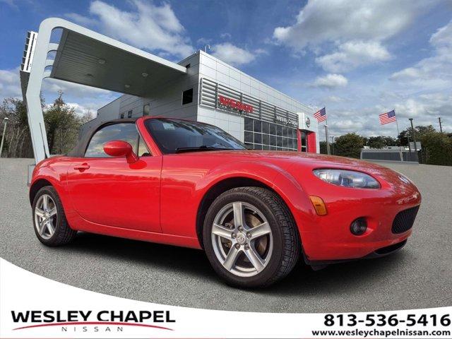 2008 Mazda MX-5 Miata 2dr Conv Auto Sport TRUE RED