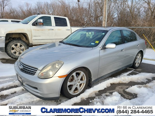 2004 Infiniti G35 Sedan 4dr Sdn Auto w/Leather HEATED MIRRORS