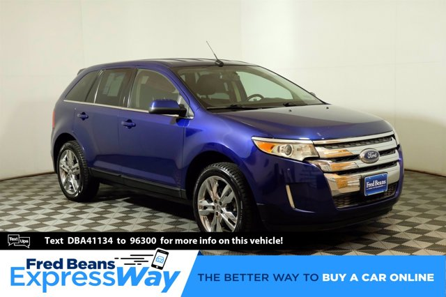 2013 Ford Edge 4dr Limited AWD BLUE Bluetooth Connection