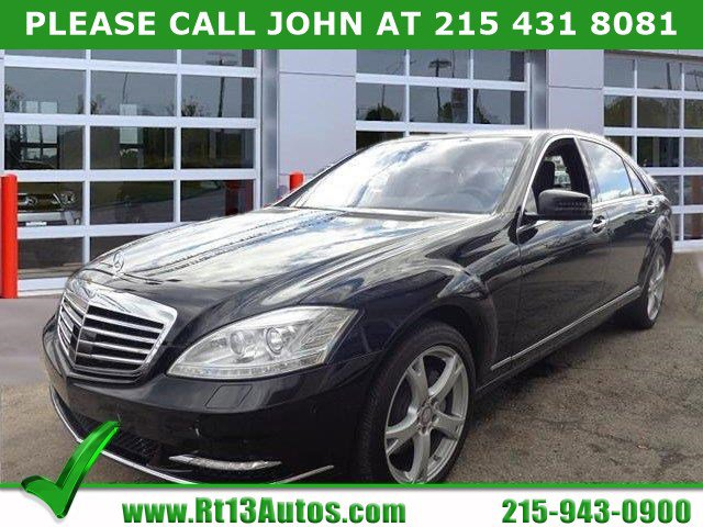 Certified 2011 Mercedes-Benz S-Class 4dr Sdn S550 4MATIC BLACK