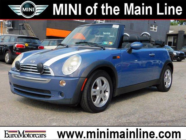 2007 MINI Cooper Convertible 2dr COOL BLUE METALLIC
