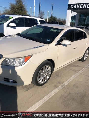2013 Buick LaCrosse 4dr Sdn Leather FWD WHITE DIAMOND TRICOAT