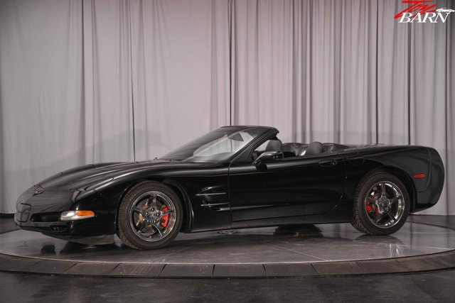 1998 Chevrolet Corvette 2dr Convertible BLACK Bucket Seats