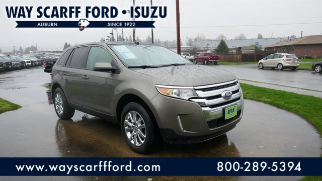 2013 Ford Edge 4dr SEL AWD MINERAL GRAY METALLIC