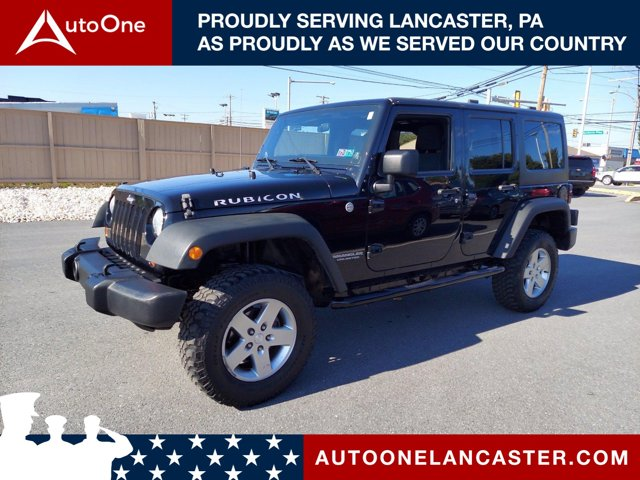 2011 Jeep Wrangler Unlimited 4WD 4dr Rubicon BLACK CLEAR COAT