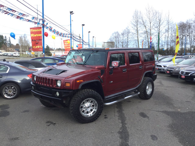 2004 HUMMER H2 4dr Wgn RED METALLIC Climate Control