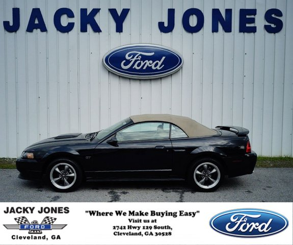 2003 Ford Mustang 2dr Conv GT Premium BLACK CD Player CD Change