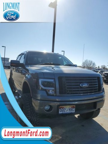 "2012 Ford F-150 4WD SuperCrew 145"" FX4 STERLING GRAY METALLIC"