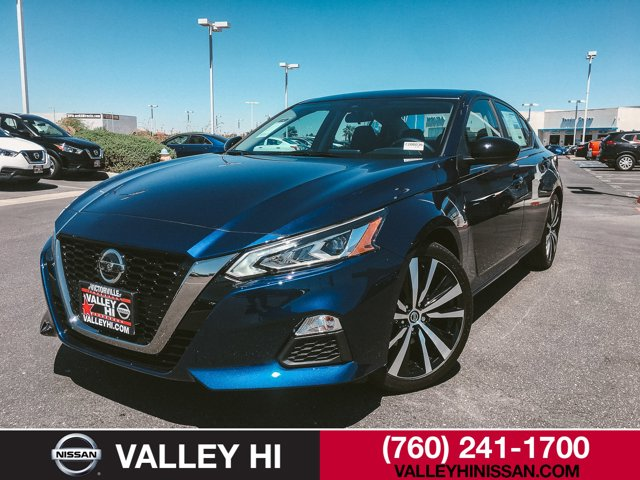 2020 Nissan Altima 2.5 SR Sedan Deep Blue Pearl